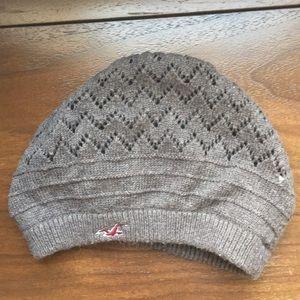 Brown hollister hat